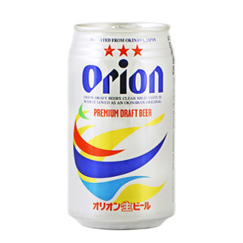 ORION BEER CAN